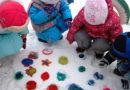 Ігри з льодом для дітей взимку