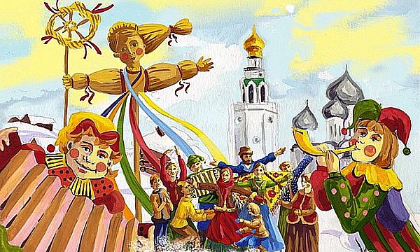 Як провести свято Масляни з дітьми   fa0f3d915facc