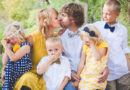 Одяг в стилі Family look на Великдень