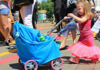 Парад дитячих візочків: фотозвіт