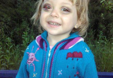 """""""Допоможіть врятувати мою донечку!"""" – батьки Софійки Кваснюк просять про допомогу."""