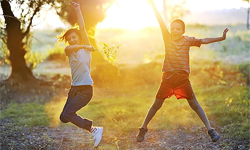 Ігри з сонцем або чим зайнятися в сонячний день