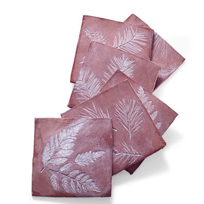 leaf-imprinted-coasters-autumn-craft