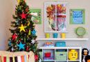 Новорічний декор в дитячій кімнаті