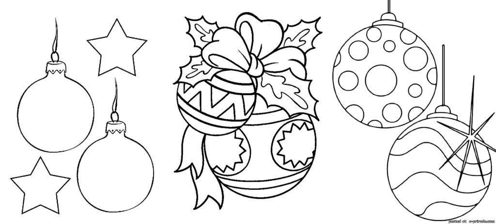 Розмальовки для дітей новий рік b0a48886e15a7