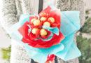 Букет з цукерок — оригінальний подарунок для малечі
