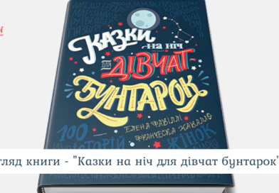 Книга «Казки на ніч для дівчат-бунтарок» Елени Фавіллі та Франчески Кавалло