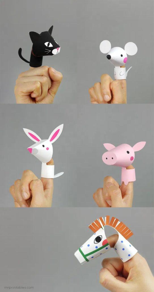пальчикові іграшки своїми руками