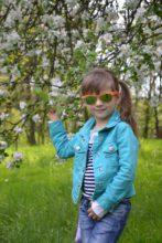 Дівчинка - весна (Злата)